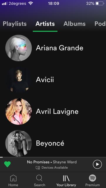 音楽アプリSpotify