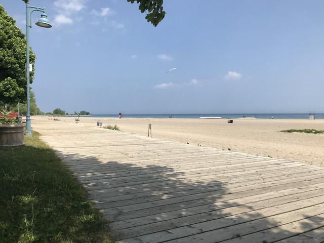 カナダの夏のビーチ