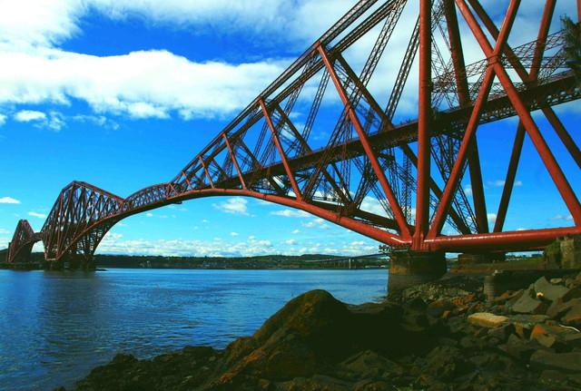 世界遺産の鉄道橋