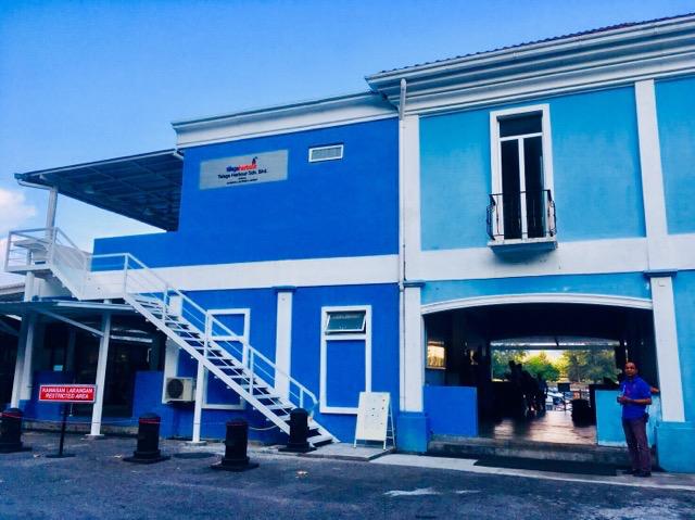 リペ島に建物