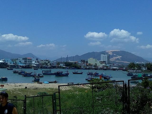 ニャチャンの漁港