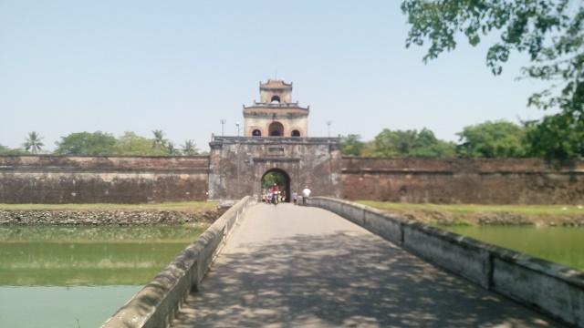 ベトナムの古都フエ