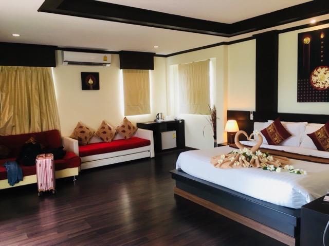 Sita Beach Resortの部屋