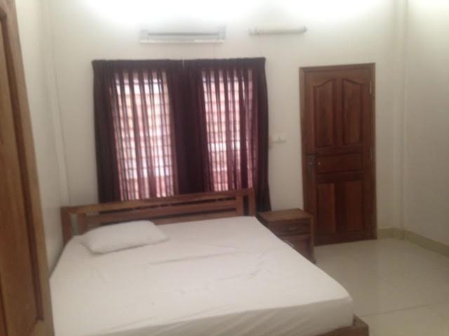カンボジアの部屋