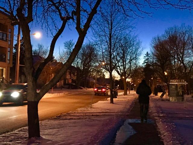 カナダの早朝