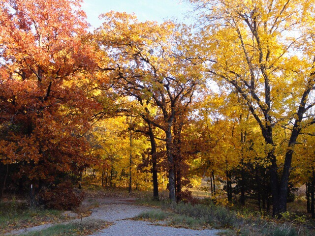 オクラホマの秋