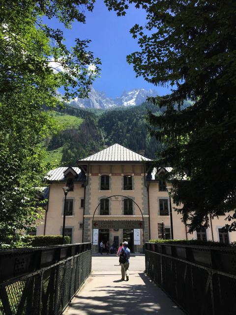 スイスの山岳リゾート