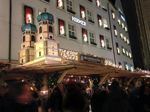 冬のクリスマスマーケット(Weihnachtsmarkt/ヴァイナハツマルクト)