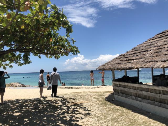 セブのビーチ
