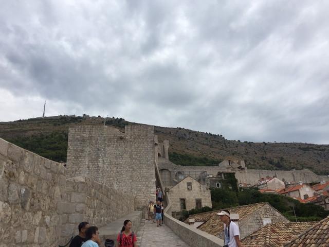 ドブロブニクの壁
