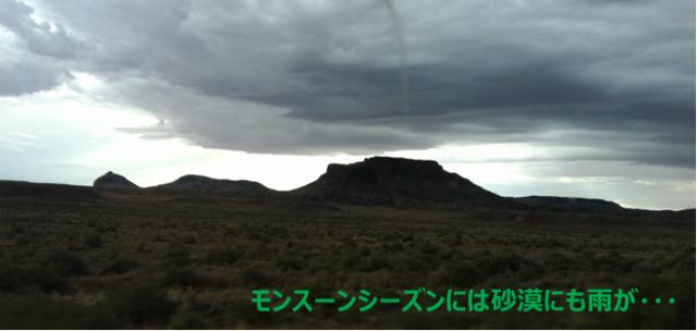 砂漠のモンスーン