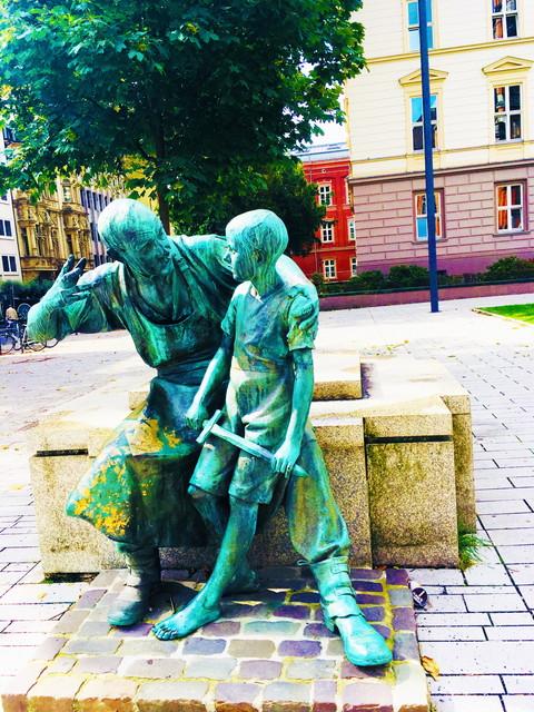 ドイツの銅像