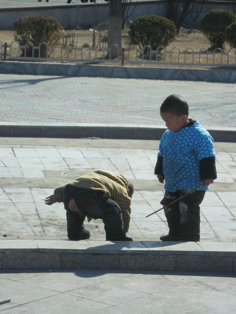 中国の子供