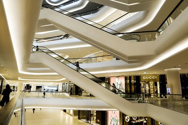 シンガポールのデパート