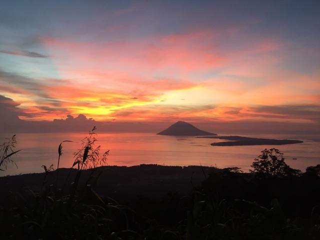 インドネシアの夕焼け