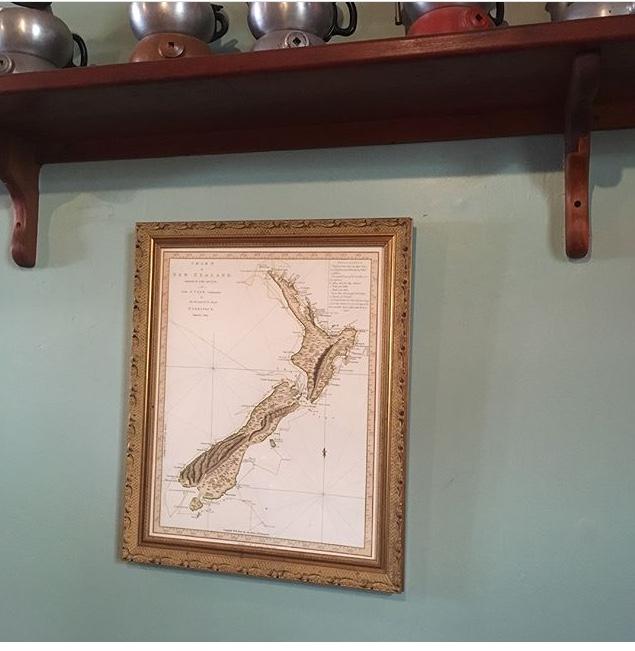 ニュージーランドのマップ