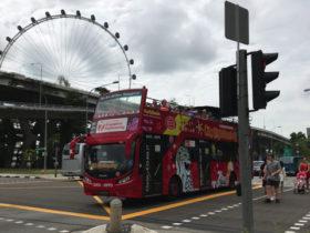 シンガポールのバス