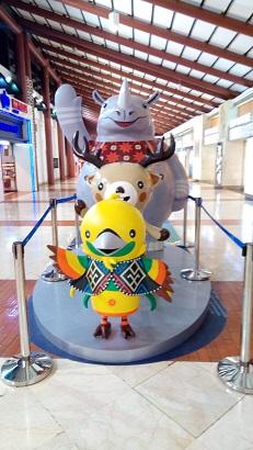 空港のキャラクター