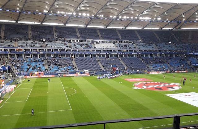 ドイツのサッカーグラウンド