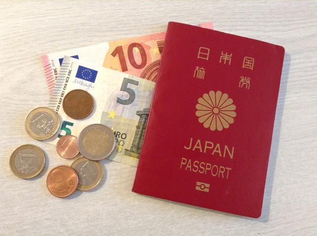 パスポートとユーロ