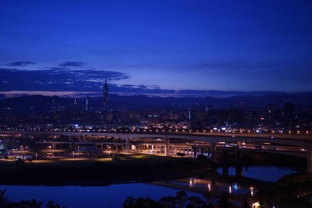 台湾の夜景