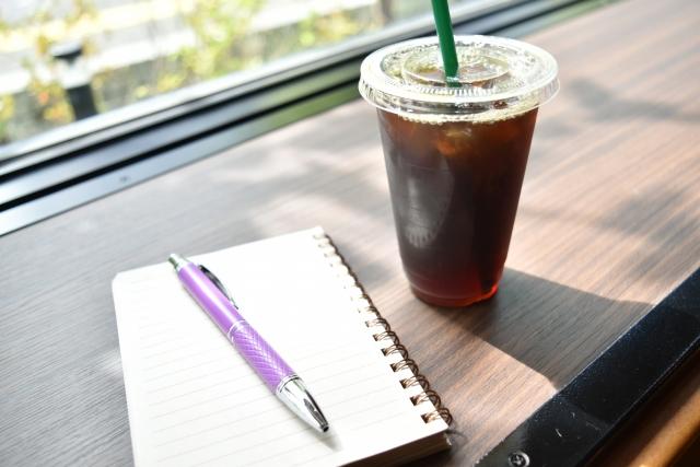 ノートとカフェ
