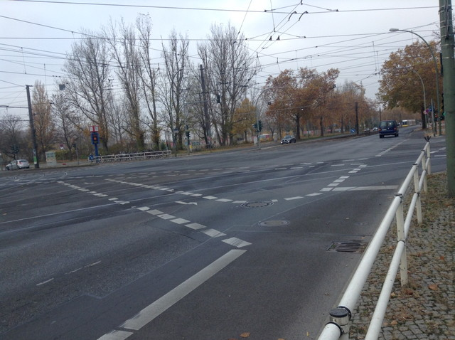 ベルリンの道路