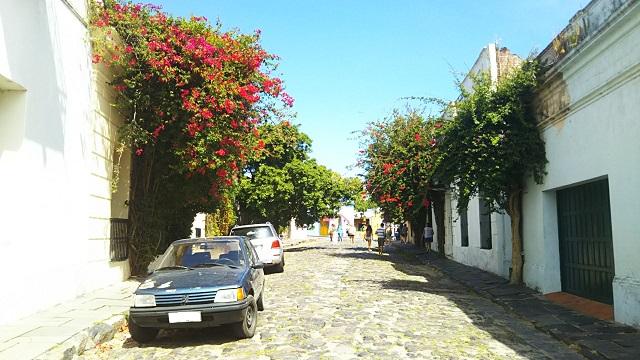 ウルグアイの世界遺産の街