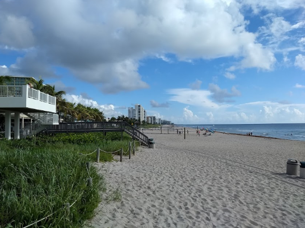 フロリダの海