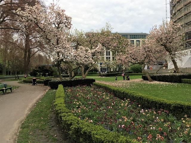 デュッセルドルフの春