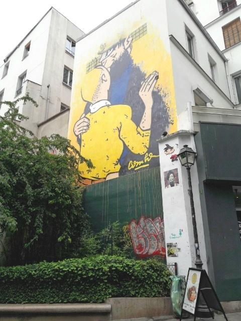 パリの壁絵