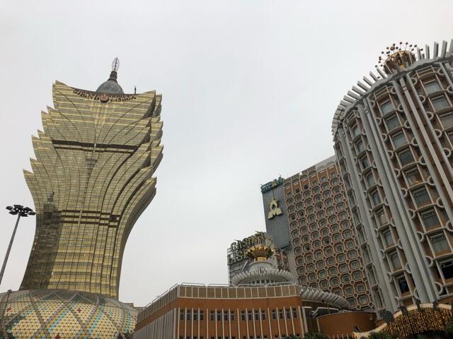 マカオの建物