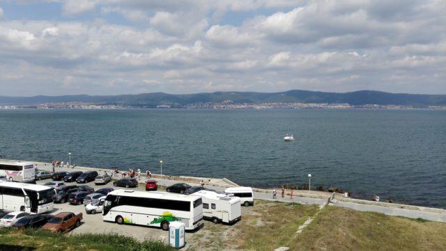 ブルガリアの海