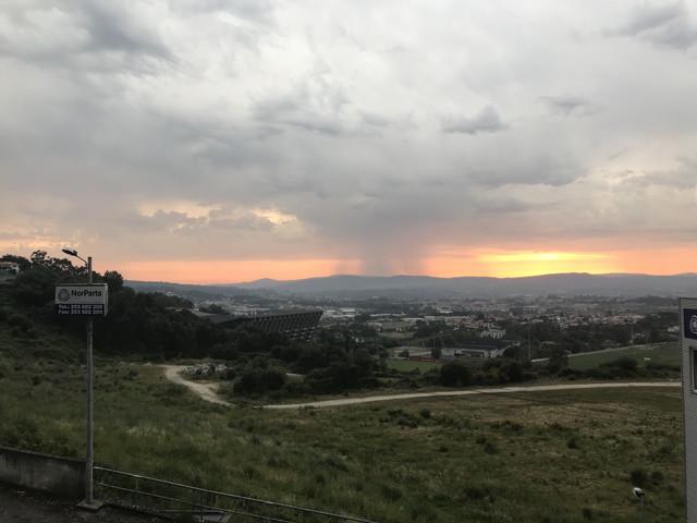 ポルトガル・プラガの空