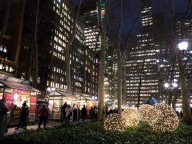 ニューヨークのクリスマスマーケット