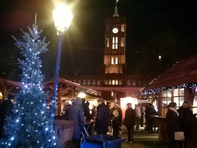 ベルリンのクリスマスマーケット