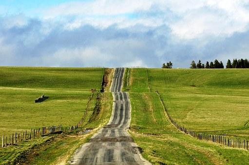 オーストラリアの道