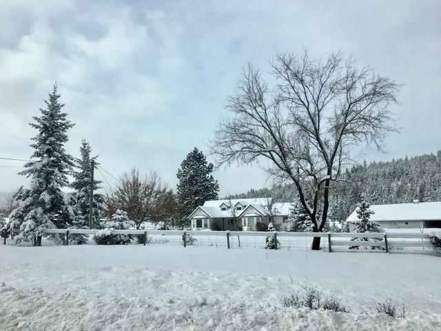 カナダの雪