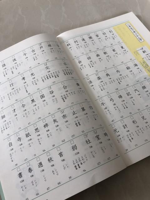 漢字の教材