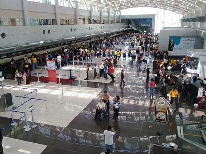 コスタリカの空港