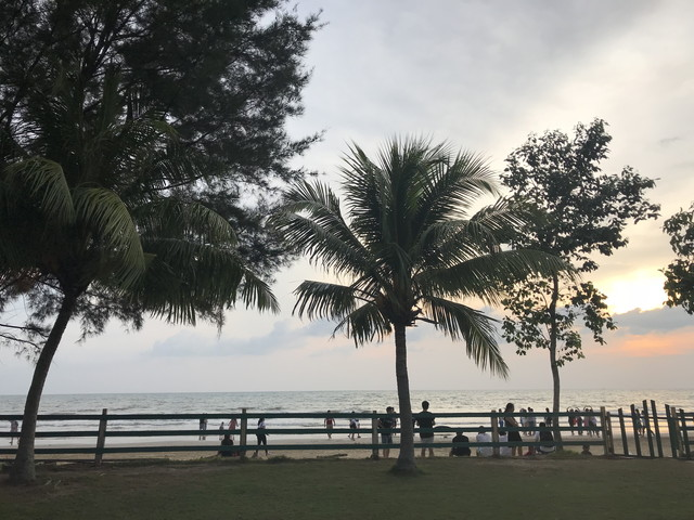マレーシアのビーチ