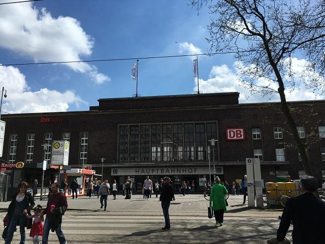 デュッセルドルフの駅