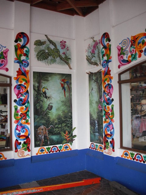 コスタリカの壁アート