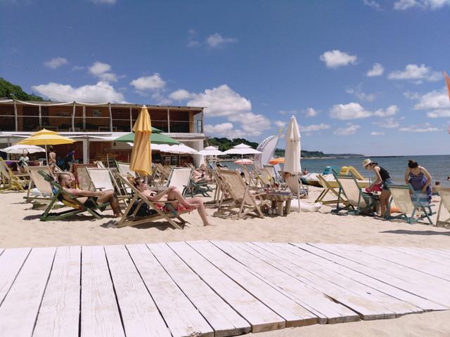 ブルガリアのビーチ