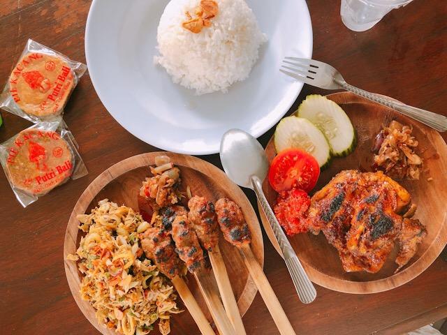 バリ島の料理