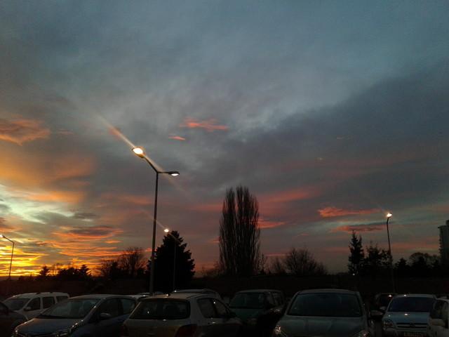 ブルガリアの空