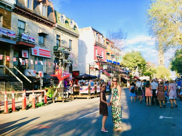 モントリオールの夏