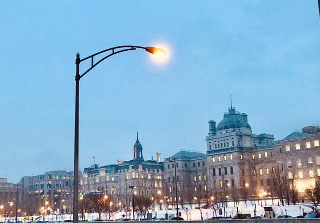 モントリオールの冬