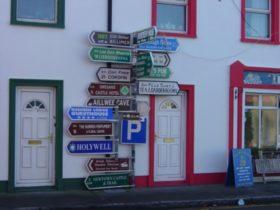 アイルランドの看板