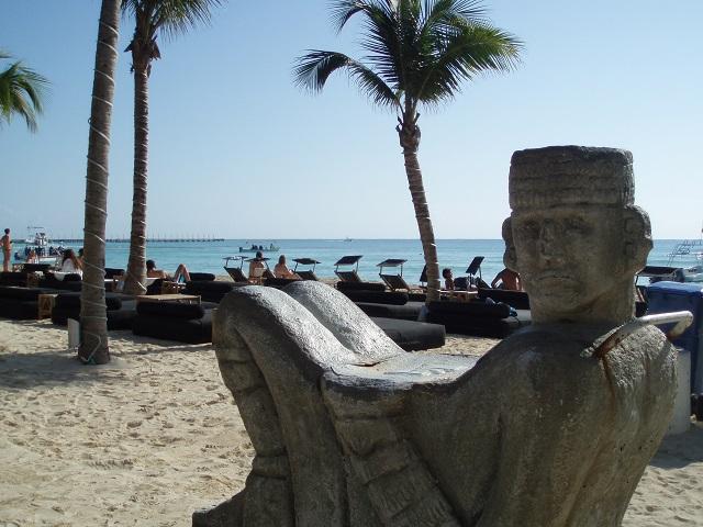 メキシコのビーチ